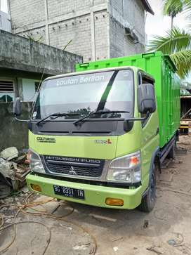 CANTER 110PS LONG BOX MASIH BARU