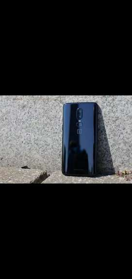 OnePlus 6 in Scratch Less Condition with box nd all accessories