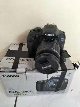Canon 1300D WiFi Fullshet Box Mulus