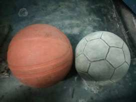 Basketball and football combo