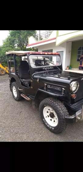 mahindra cj3b original short jeep