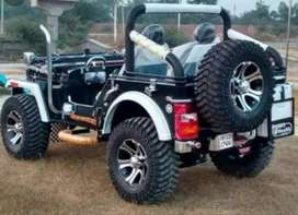 Modified thar jeep