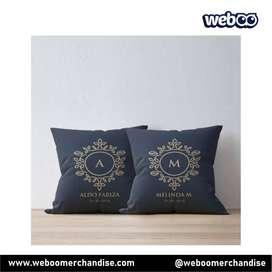 Bantal Cantik Motif Nama / Foto Sendiri Custom, souvenir, kado