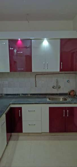 2+study semi furnished flat available in 10k