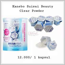 Kanebo Suisai Beauty Clear Powder  Ready Stock Jual encer 12rb/kapsul