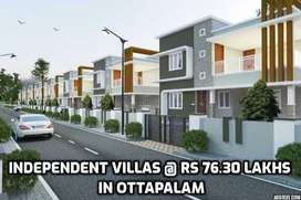 The Brand New Independent House @ Rs 76.3 Lakhs ,in Ottapalam Town