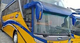Mercy R 1836 bus pariwisata th 2016 karoseri Adiputro