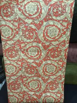 Curtains and wall paper and glass paper whole sale rate m