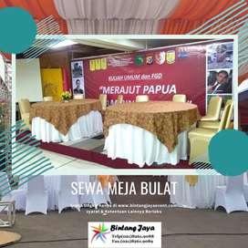 sewa round table (meja bulat)