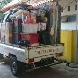 Jasa pindahan Sewa mobil pick up & truk engkel CDE mobil bak terbuka