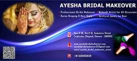 BRIDAL MAKEOVER & MEHENDI ARTIST