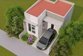 Rumah minimalis lingkungan perumahan