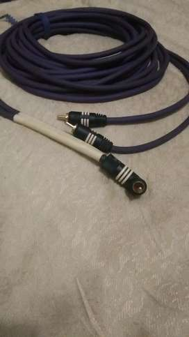 Oehlbech subwoofer cable.