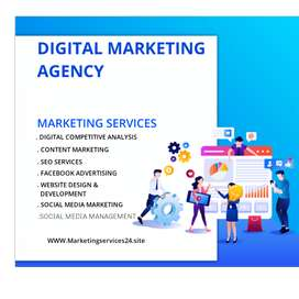 SEO | Social Media | Digital Marketing  Services | Website dev SERVICE