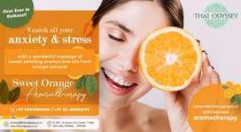 Exclusively Sweet Orange Aromatherapy- First ever in Kolkata