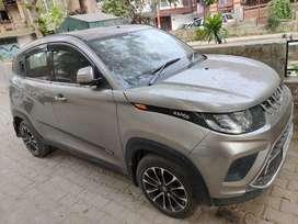 Mahindra KUV100 NXT grey colour fully loaded, new diamond cut alloy