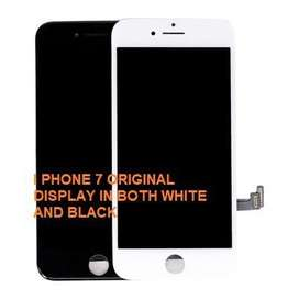 Original apple i phone displays. 6, 6s, 7, X