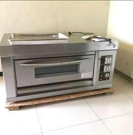 Jual gas oven listrik 1 deck 2 tray primax bergaransi