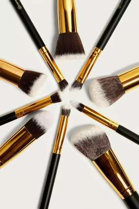 Imported Makeup Brushes 10 pieces set