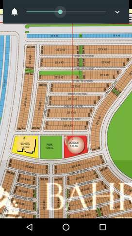 Bahria Town Percienct 28 plot 125 for sale