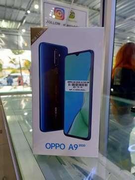 Oppo A9 2020 8/128gb garansi resmi 1 tahun.