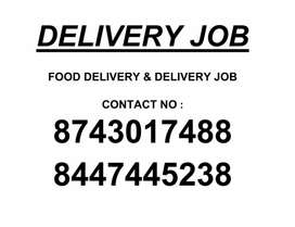 FOOD DELIVERY JOB & DELIVERY JOB