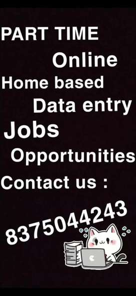 Wanted candidates for data entry jobs and link upload job