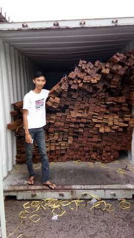 Decking kayu ulin plafon kayu lantai kayu kisi kisi kayu