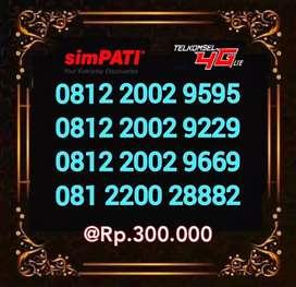 Perdana Telkomsel nomor cantik