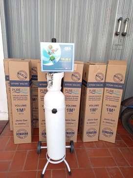 Ready Alat Pernafasan Tabung Oksigen 1m3