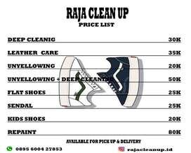 Laundry Sepatu & Helm
