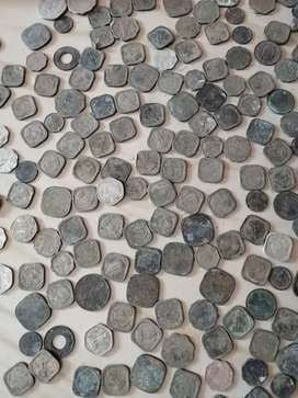 Indian coins 100 year ago