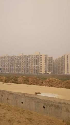 Spacious flat, big room size , very prime location on 150 MTR Highway