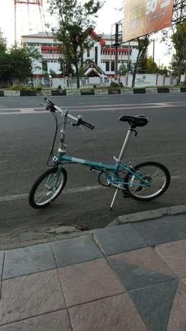 Sepeda Lipat Dahon Boardwalk D8 Biru Harga Nett