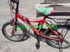 Bicycle in good condition with free gift