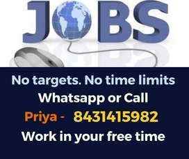 100% Genuine data entry jobs. Earn weekly Rs.10,000/-.