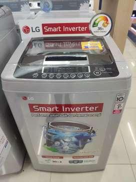 Kredit Mesin cuci LG Top Loading! Tanpa DP! Proses cepat 3 mnt! SBY!
