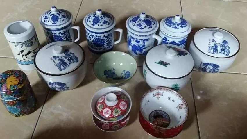 Keramik antik asli china 0
