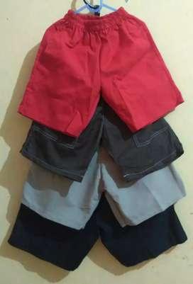 Celana semi chino / kolor anak / celana pendek anak cowok cewek
