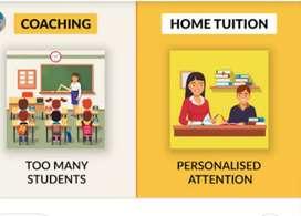 Home tutor, nursery to class 8