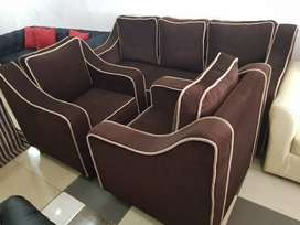 Elimel Sofa Set (5 Seater) By Iris  Furniture