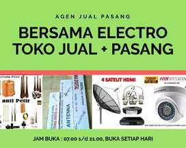 Instalasi Pemasangan Antena TV