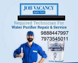 Technician Required for water purifier s