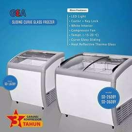 Freezer Box merk Gea (tersedia byk ukuran/kapasitas)