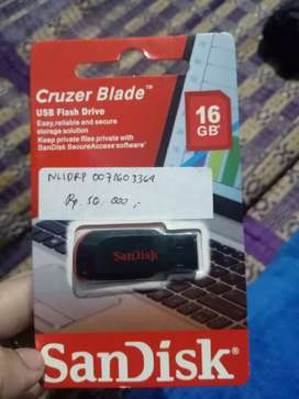 Flashdisk merk Sandisk 16gb