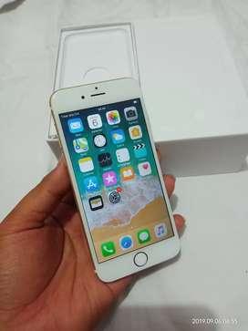 Iphone 6 64gb gold mulus fulset normal smua kartu gsm FU