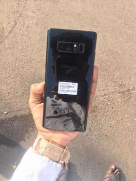 Samsung galaxy note 8 (6/64) in good condition
