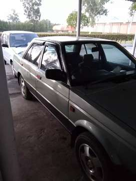 Nissan sunny 86 model in good condition. Power steering.