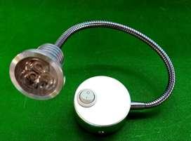 Lampu Baca Flexible Head Spotlight
