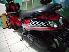 Yamaha fino mesin karbu